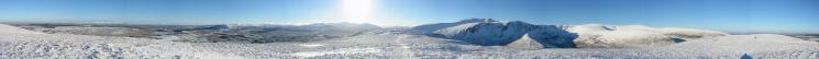 360 Panorama from Souther Fell's summit
