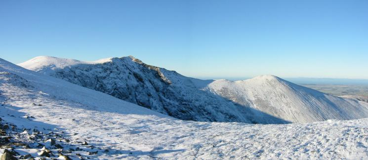 Sand Hill, Hopegill Head and Ladyside Pike