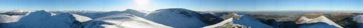 360 Panorama from Hopegill Head's summit