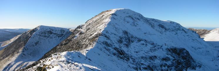 Looking back to Wandope and Eel Crag