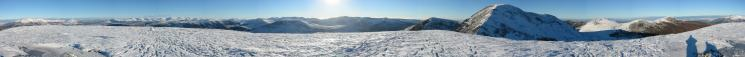360 Panorama from Sail's summit