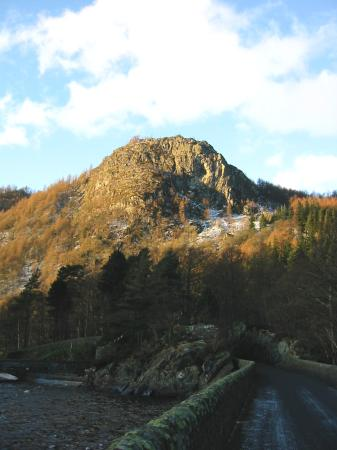 Raven Crag from Thirlmere dam