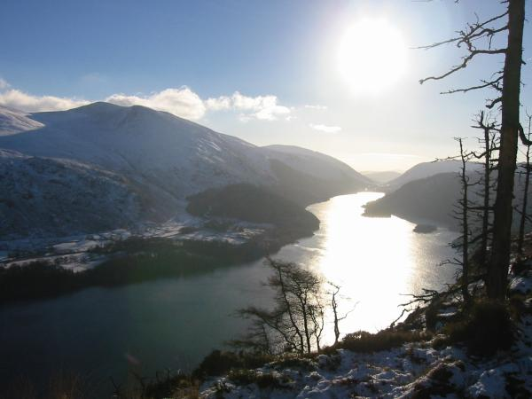 Thirlmere from the top of Raven Crag