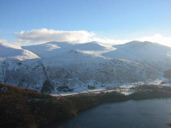 Raise, White Side and Helvellyn Lower Man