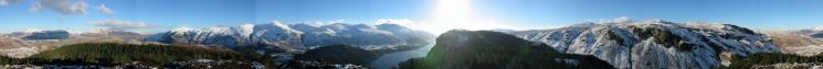 360 Panorama from The Benn's summit