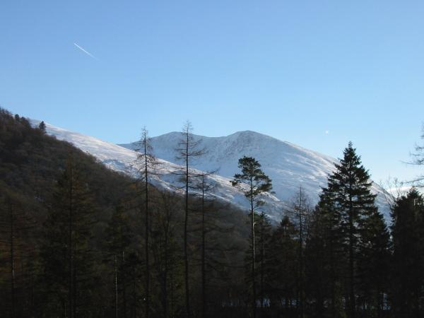 Helvellyn Lower Man and Browncove Crags