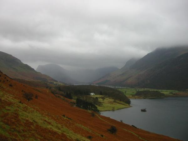 Wood House between Buttermere and Crummock Water