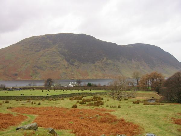 Rannerdale Farm and Mellbreak