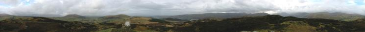360 Panorama from Gowbarrow Fell's summit