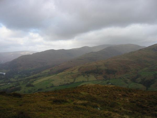 The Fairfield Horseshoe from Wansfell Pike