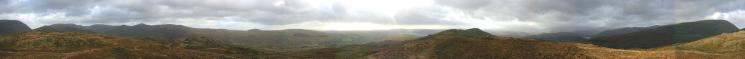 360 Panorama from Wansfell's summit