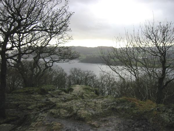 Windermere from the top of Jenkins Crag