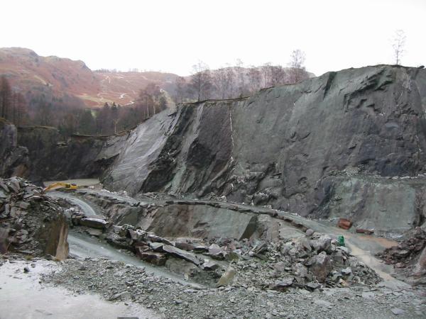 The slate quarries