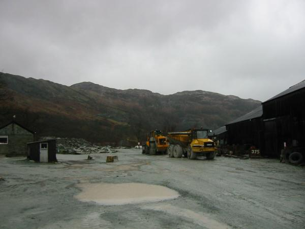 Lingmoor Fell from the quarries