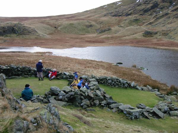 Lunch stop at Dalehead Tarn