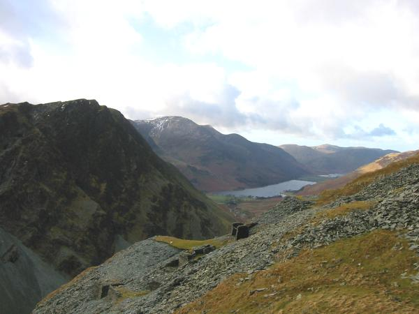 Honister Crag and Buttermere