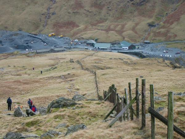 Honister Slate Mine at Honister Pass