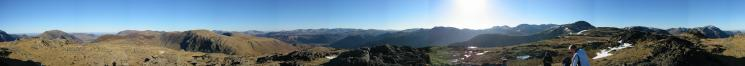 360 Panorama from Grey Knotts' summit