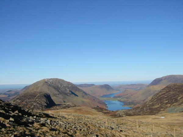 Buttermere from Grey Knotts summit
