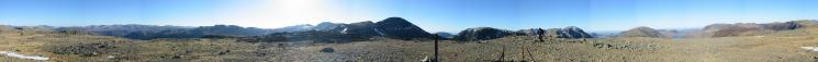 360 Panorama from Brandreth's summit