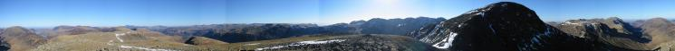 360 Panorama from Green Gable's summit