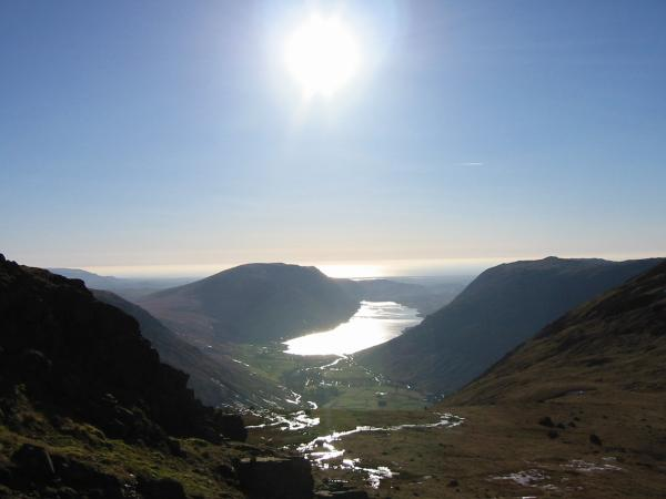 Wastwater from Beck Head