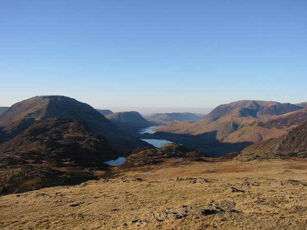 Buttermere from Moses' Trod