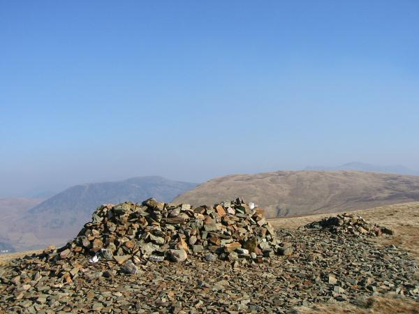 Great Borne and Crag Fell from Grike's summit