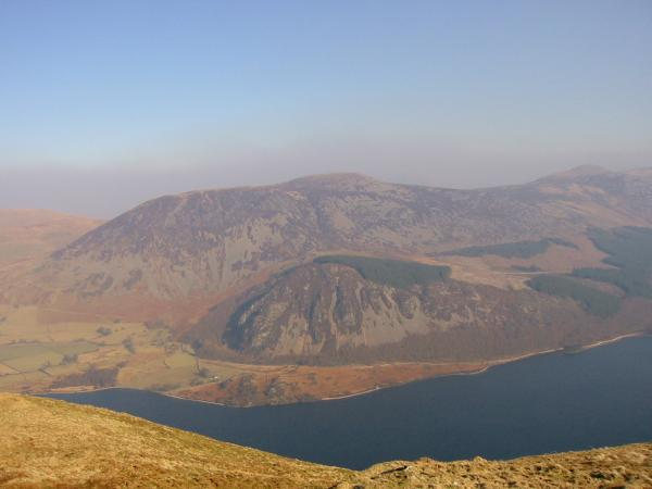 Herdus, Great Borne with Bowness Knott below and Starling Dodd from Crag Fell