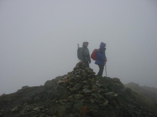 Loft Crag summit
