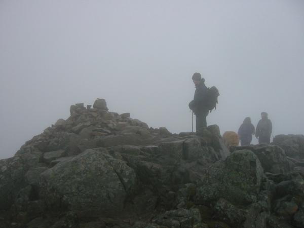 Pike O' Stickle summit