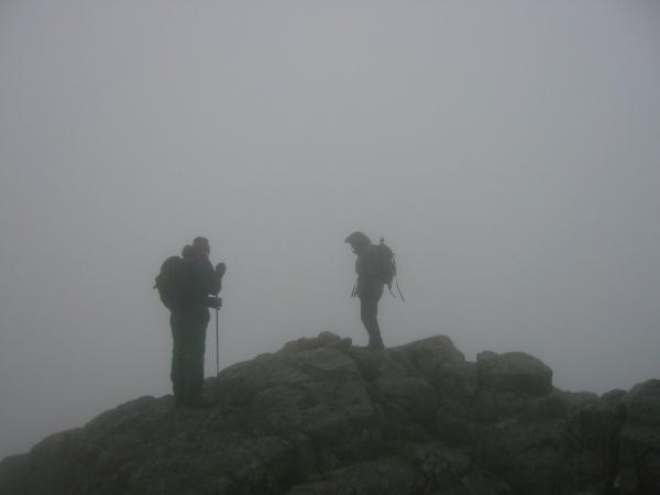 Harrison Stickle summit