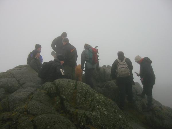 Pavey Ark summit