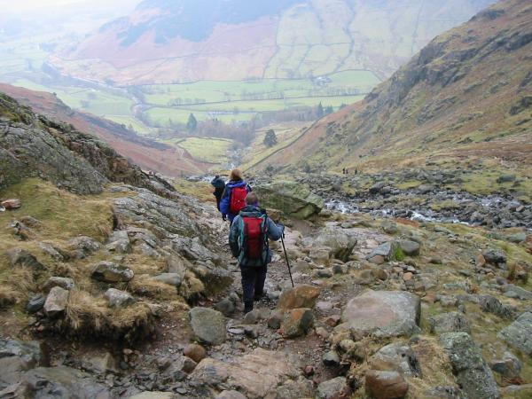 Descending Stickle Ghyll