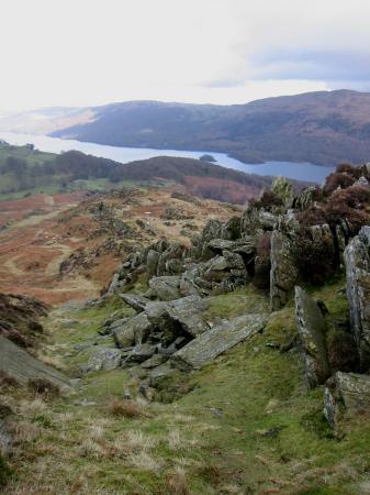 A. Wainwright's rocky gully