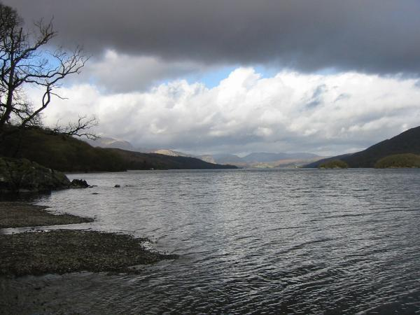 Coniston Water from Brown Howe