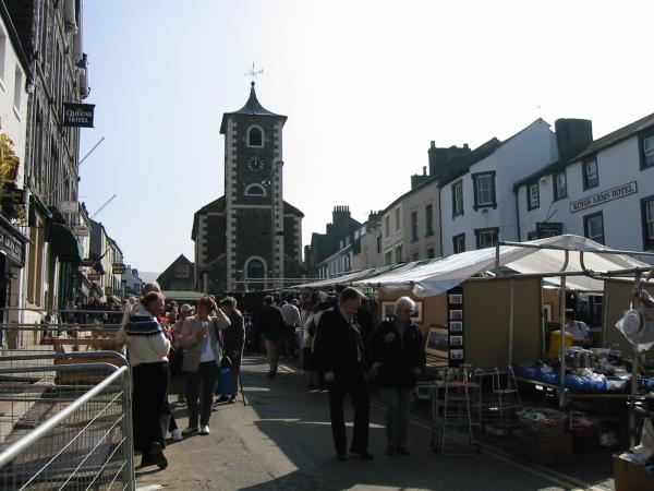 Market day in Keswick