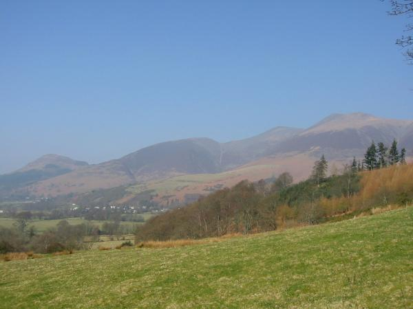 Dodd, Carl Side, Skiddaw and Little Man