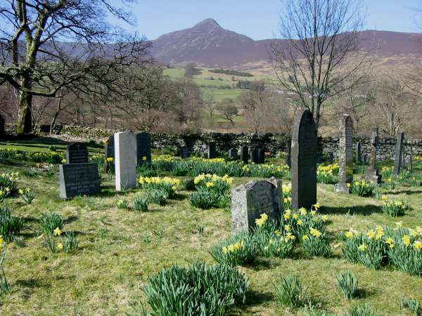 Causey Pike from Newlands Church