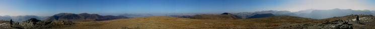 360 Panorama from Robinson's summit