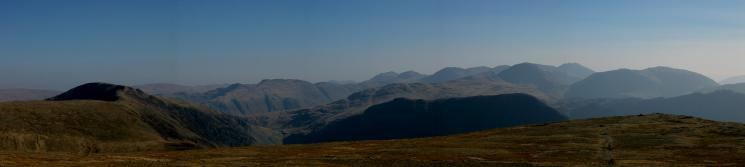 Dale Head to Kirk Fell from Robinson's summit