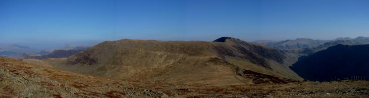 Hindscarth and Dale Head from Robinson