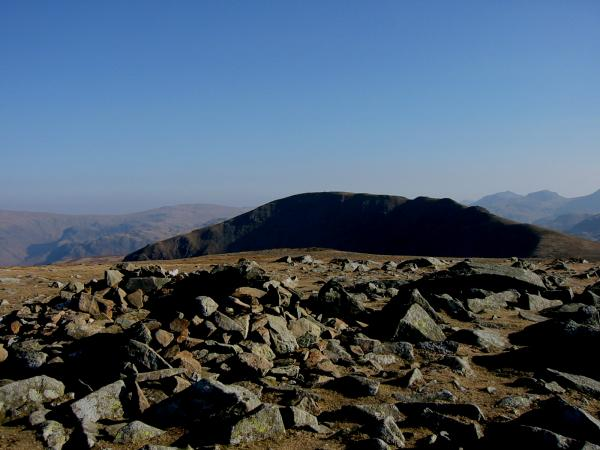 Dale Head from Hindscarth's summit