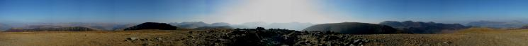 360 Panorama from Hindscarth's summit