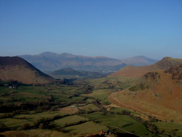 Skiddaw from Scope End
