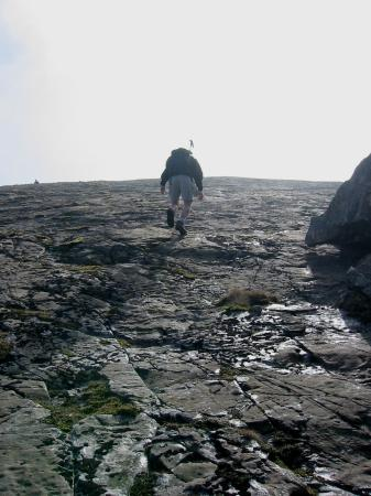 Ascending the Great Slab