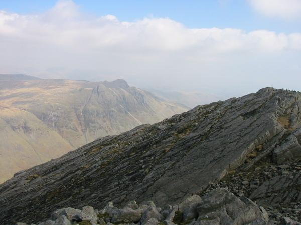 The Langdale Pikes and the Great Slab
