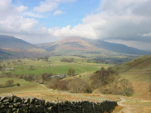 Blencathra from the descent to Rakefoot