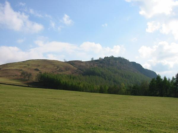 Walla Crag from near Rakefoot