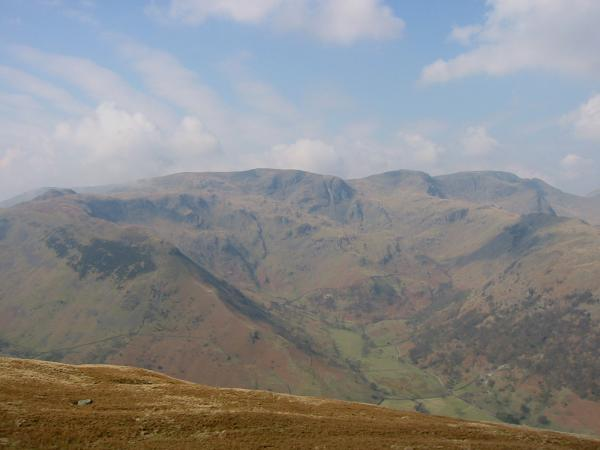 Looking west to Dovedale from Hartsop Dodd